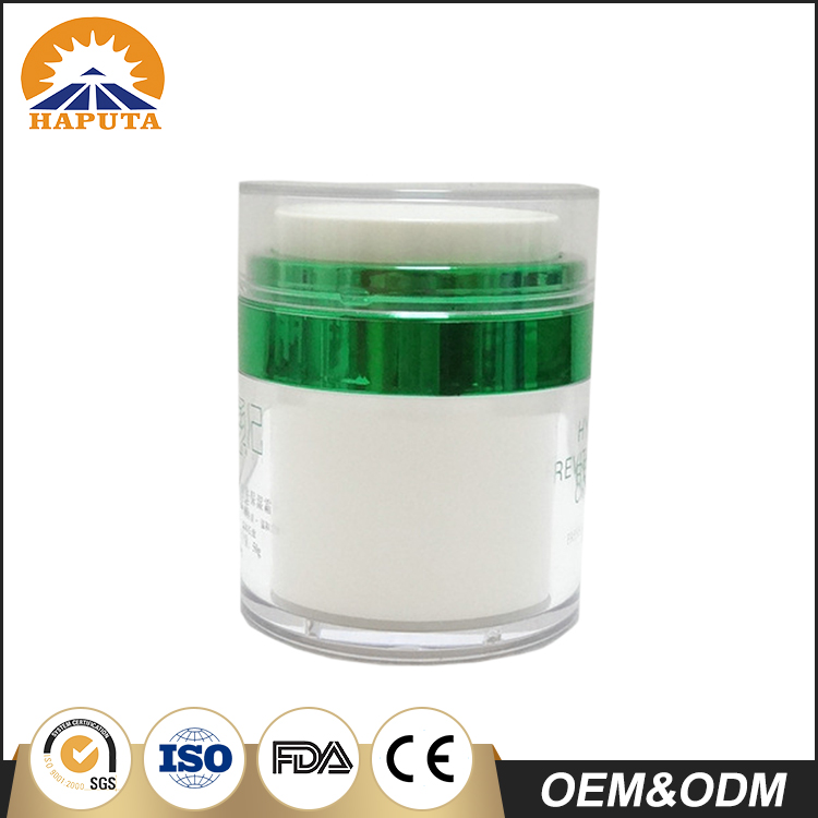 Special Designed Airless Plastic Jar With Press Pump