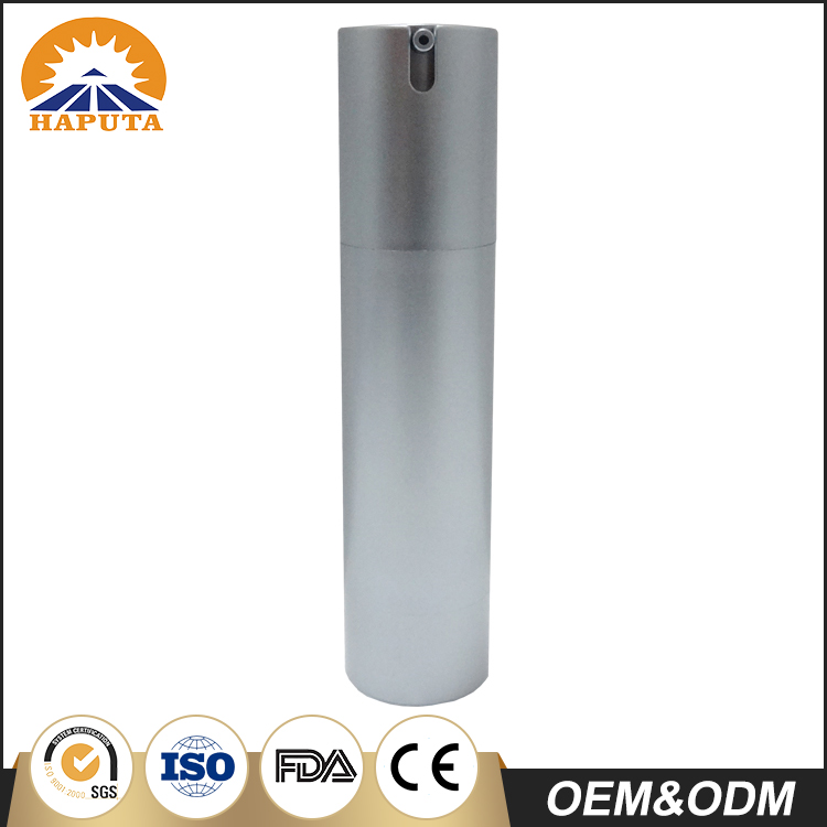 50ml Frosted Fancy Plastic Airless Bottle