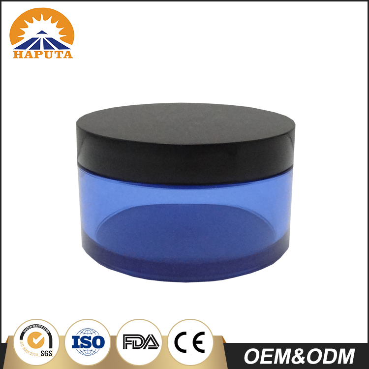Translucent Color Cream Jar With Screw Cap